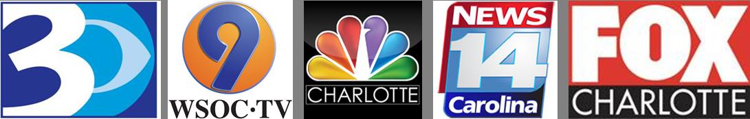 Charlotte DMA TV logos